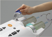 imple Touch Syringe Mount